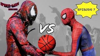 Spiderman Basketball Episode 7 ...Spiderman vs Carnage... SuperHero bball