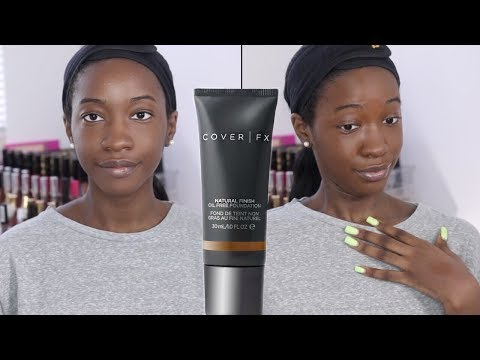 Foundation Hunt #19: COVER FX Natural Finish Foundation (N110)