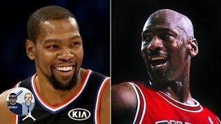 Kevin Durant is smart to avoid a GOAT debate involving Michael Jordan - Jalen Rose | Jalen & Jacoby