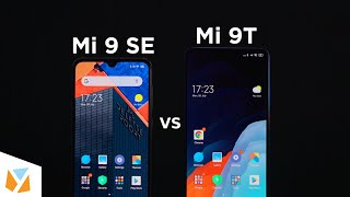 Xiaomi Mi 9T vs Xiaomi Mi 9 SE Comparison Review