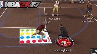 ANKLE BREAKER MIXTAPE!! + EXPOSING A TRASH TALKER @ THE PARK!!! NBA 2K17