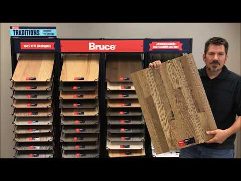 Bruce Hardwood's new Matte & Wire Brushed Natural Choice