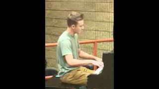 Vlad Shvets Piano practice at CCBC