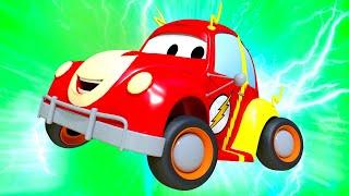 Autogaráž pro děti - Z Henryho je Flash z Ligy spravedlnosti