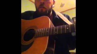 James w Scott singing Hard Edges by Chris Knight