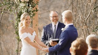 Intimate Backyard Wedding Ceremony | Getting Married In Covid 19 | Wilhite Larson Wedding April 2020