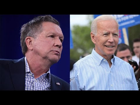Republican John Kasich To Speak In Favor Of Biden At Dem Convention
