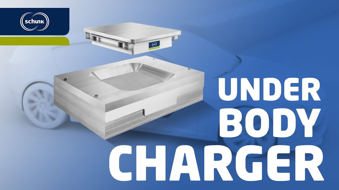 Schunk Smart Charging: Underbody Charger
