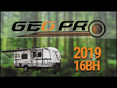 2019 Forest River Rockwood Geo Pro 16BH Travel Trailer For