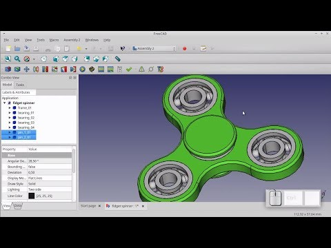 FreeCAD Tutorial - General #21 - How to extrude text