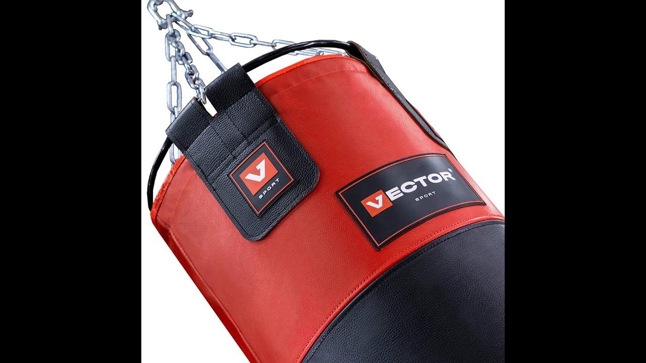 Мешок боксерский из натуральной кожи, высота 90 см, Ø 40 см, вес 40 кг.