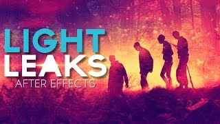 Light Leaks Gratis After Effects