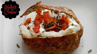 jacket potato microwave and oven recipe