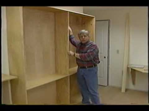how to secure a bookshelf to the wall. Black Bedroom Furniture Sets. Home Design Ideas