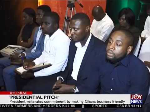 'Presidential Pitch' - The Pulse on JoyNews (25-6-18)