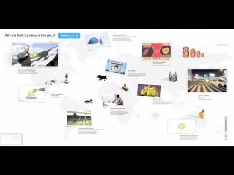 Dell Latitude Interactive Wall Display