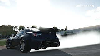 Forza Motorsport 7 | How To Drift w/ Fast and Furious Widebody BRZ! At Road Atlanta!!