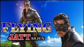 Harkat  A Flying Jatt Full Action Movie  Ft Arjun Madhuri  Hindi Dubbed