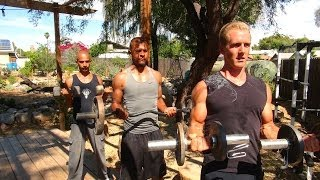 Get Ripped at Home - Martial Arts Workout! by Kung Fu & Tai Chi Center w/ Jake Mace
