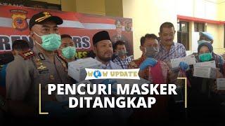 Pencuri Ratusan Dus Masker di RSUD Pagelaran Cianjur Ditangkap, Seorang Pelaku Ternyata ASN