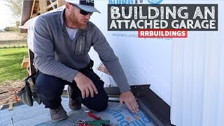 How to Build a Garage Addition 19: Connection Flashings, and Metal Trim Details