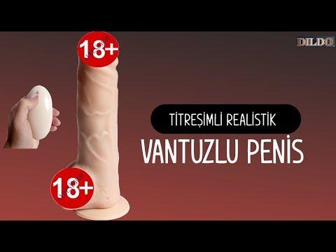 Uzaktan Kumandalı Şarjlı Edilebilir 20 Modlu Titreşimli Realistik Vantuzlu Penis