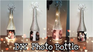 DIY Photo Bottle Lamp | Best Anniversary Gift Idea | Handmade Gifts | Episode 15