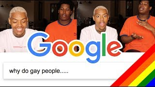 WTF?! Answering the most Googled questions about Gay people for PRIDE MONTH 🌈 | Tarek Ali