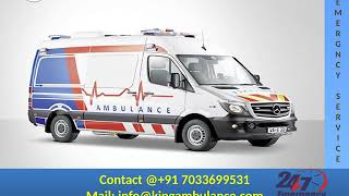 Hire Finest Road Ambulance Service in Bokaro and Dhanbad by King
