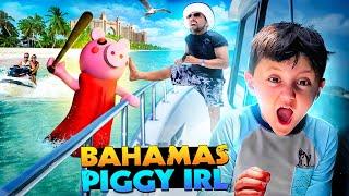 PIGGY tries to ruin BAHAMAS Vacation! + Atlantis Waiter Chooses Tip! (FV Family Paradise Island #2)