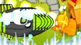 Can 1 Glue Gunner Only Beat ALL 100 Rounds? (Bloons TD 6) - ISAB