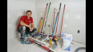 Tools! Tools! Tools! Drywall Tools Walk-through