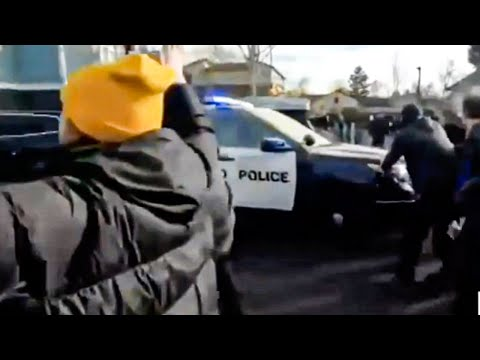 Stunning Eviction Protest In Portland