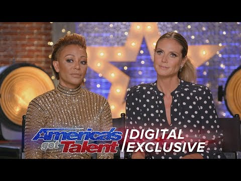 Heidi Klum: Is She Obsessed With Simon Cowell? - America's Got Talent 2017