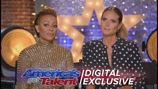 Heidi Klum: Is She Obsessed With Simon Cowell? - America