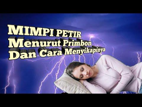 MIMPI PETIR (Menurut Primbon & Cara Menyikapinya)