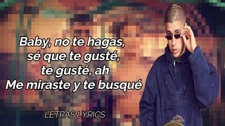 Te Guste (Letra)   Jennifer Lopez Ft Bad Bunny | Letras Lyrics