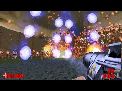Download Doom 2 Holy Hell Gameplay With Russian Overkill Mod