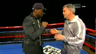 ESPN - Teddy Atlas teaches 50 cent Boxing
