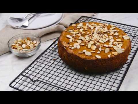 Honey-Cardamom Almond Cake Recipe