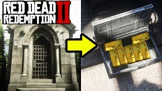 I FOUND 7 GOLD BARS HERE! How to Make EASY FAST MONEY in Red Dead Redemption 2!
