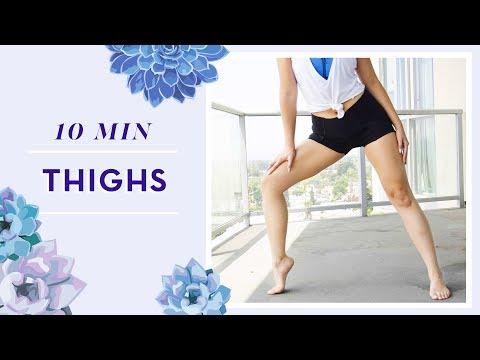 캐시언니가 추천하는 허벅지 5가지 운동법