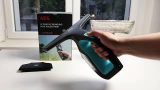 Test: AEG WX7 Fensterreiniger / Akku-Fenster-Sauger