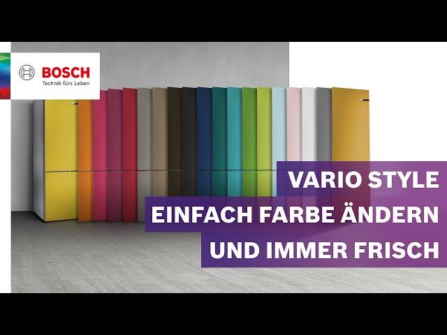 Bosch Vario Style Kühlschrank : Bosch mediathek hausgeräte elektrogeräte und küchenstudio