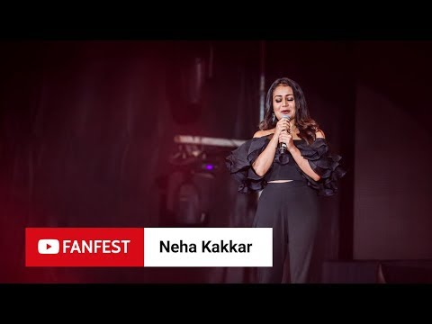 Download NEHA KAKKAR @ YouTube FanFest Mumbai 2018 HD Mp4 3GP Video and MP3