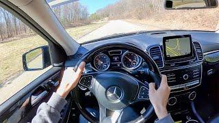 [WR Magazine] 2018 Mercedes-Benz GLS550 - POV Test Drive by Tedward (Binaural Audio)
