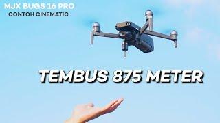 DRONE MURAH & BAGUS! Kamera 4K Sudah Ada Gimbal & EIS - Review MJX Bugs 16 Pro