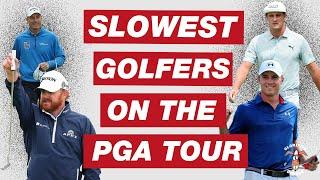 Who Are The Slowest Golfers On The PGA Tour? Bryson DeChambeau?