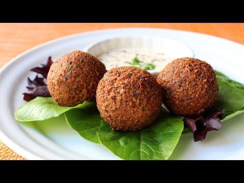 How to Make Falafel – Crispy Fried Garbanzo Bean/Chickpea Fritter Recipe