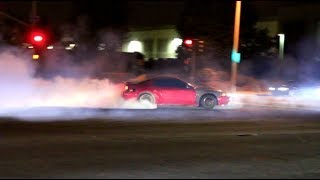 MUSTANG CRASHES INTO MIATA! Car Meets Gone Wild..